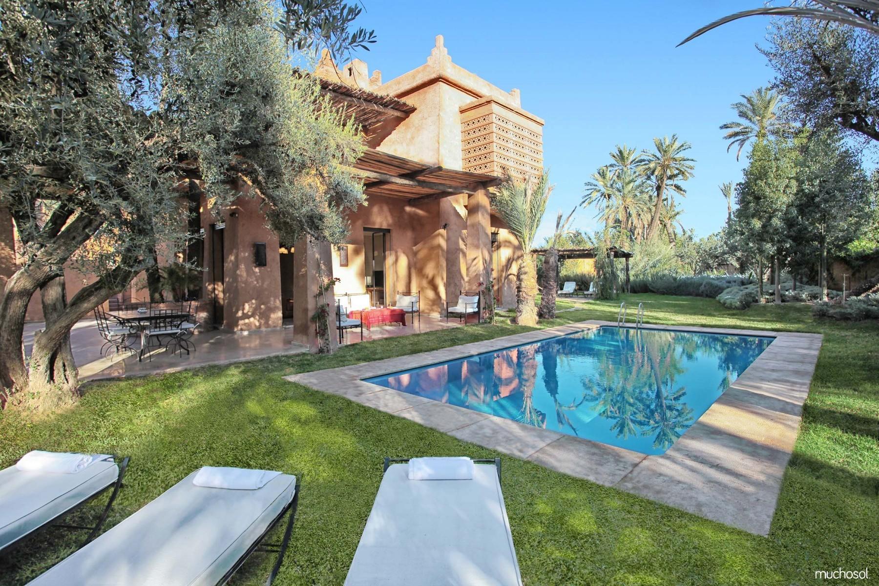 Maison avec piscine priv e marrakech ventana blog - Location maison avec piscine marrakech ...